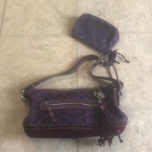 Coach bag 💜